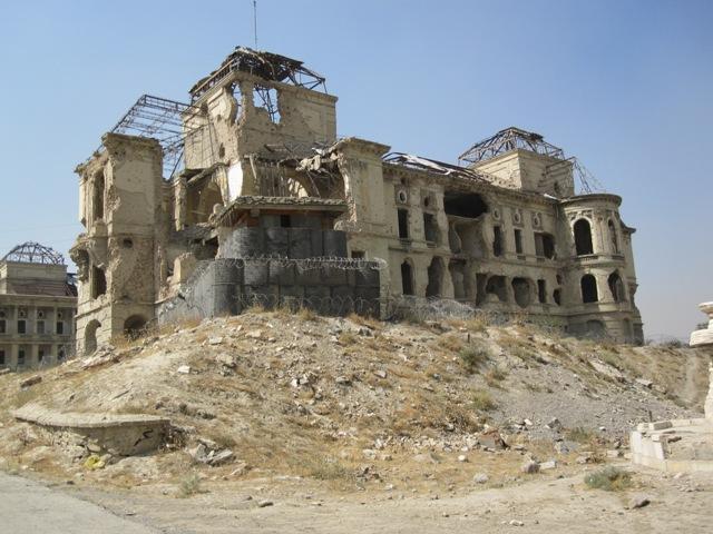 Darulaman palace, Kabul okt 2009