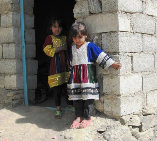 Barn i Kabul, okt 2009