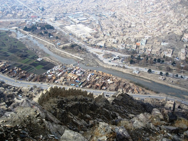På Kabuls statsmur 28-nov-2009