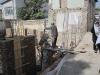 Byggarbetsplats i Kabul okt 2009
