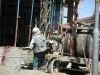 Kabul bygge vid Hadji Yakobi Moske 2003