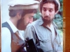 En ung Abdullah med Massoud