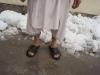 Baba Said trotsar snön 13 feb 2009