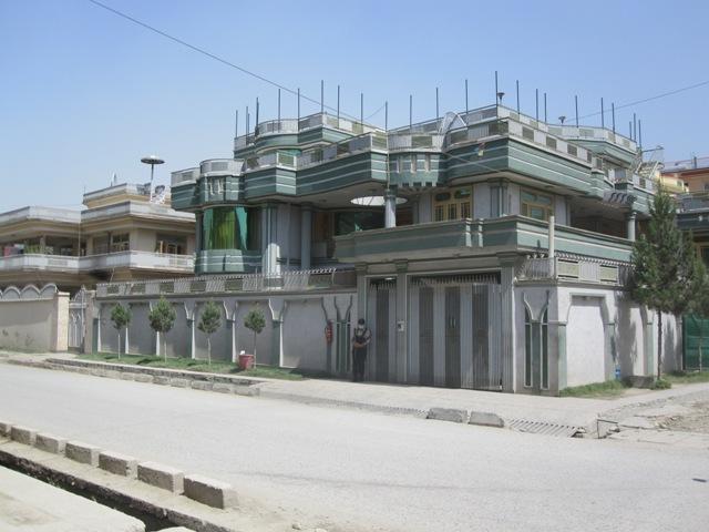 Nybyggen i Kabul för de nyrika, sept 2009