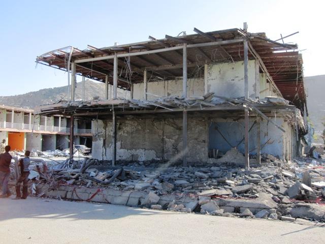 Efter självmordbomben vid Indiska ambassaden Kabul 8 okt2009