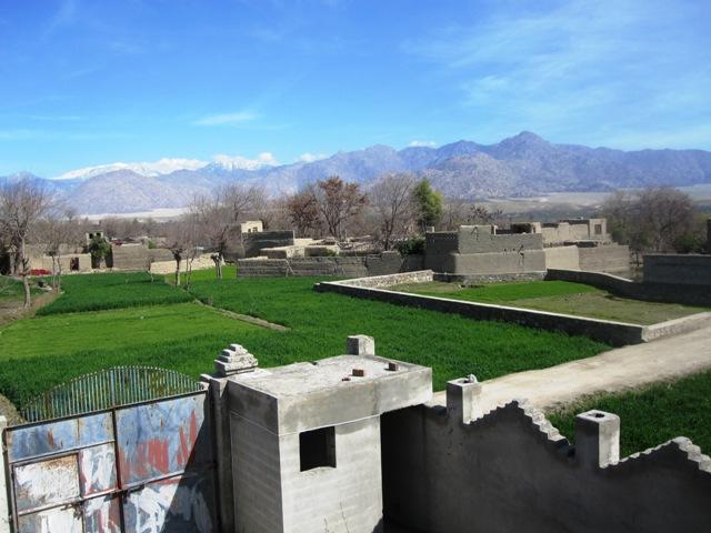 Utsikt från kontoret i Mehtarlam 2 Mars 2010