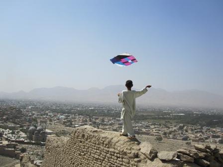 Drakflygning i Kabul