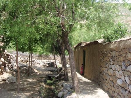 I en by i Pansjir